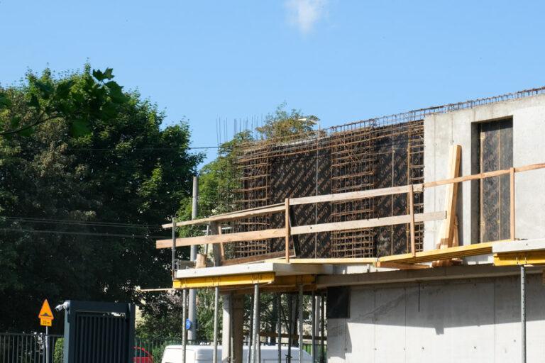 Prace budowlane   2 etap   Sierpień 2021