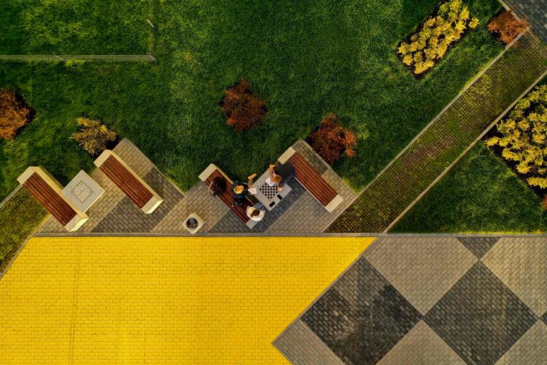 Strefa spotkań sąsiedzkich | Osiedle STO10 Chylońska w Gdyni