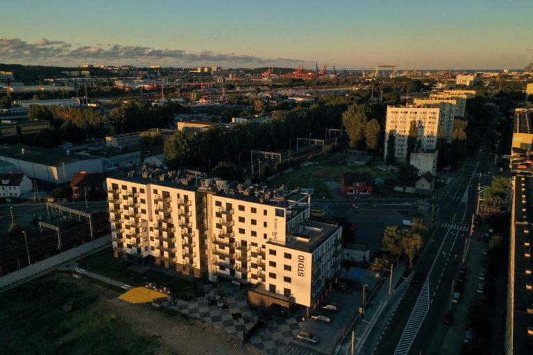 Widok z drona | Osiedle STO10 Chylońska w Gdyni