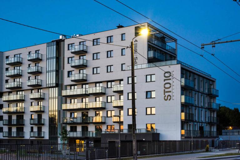 Wieczór | Osiedle STO10 Chylońska w Gdyni