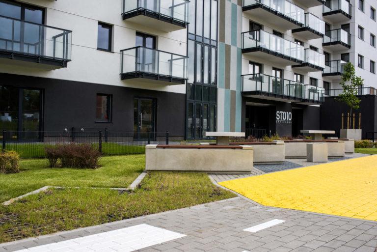 Zewnętrzne części wspólne | Osiedle STO10 Chylońska w Gdyni