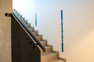 licznik kalorii na schodach