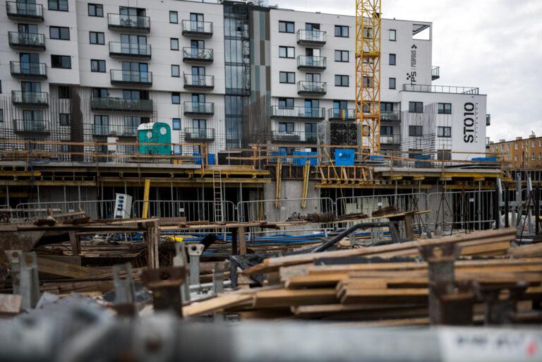 Prace budowlane   2 etap   Lipiec 2021